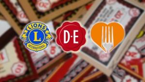 Lions DEpunten voor de Voedselbank Leusden