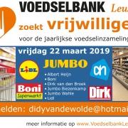 voedselbank Leusden Inzamelingsactie 2019