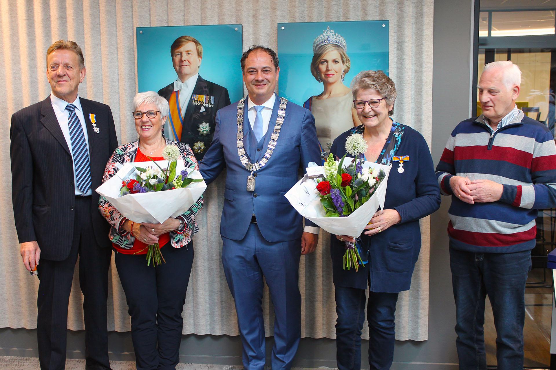 Voedselbank Leusden 2019: Lintje voor Wim Tijmensen en Martje Meerveld