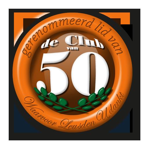 club van 50 Voedselbank Leusden