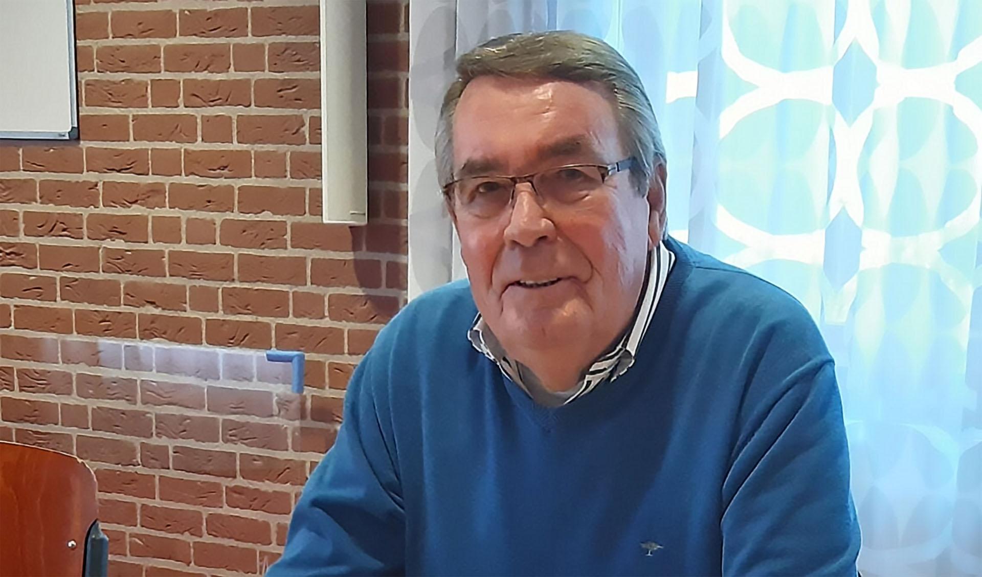 Henk van de Wolde: ,,De Voedselbank krijgt mogelijk met 30 tot 50% meer klandizie te maken.''  Foto: Daan Bleuel